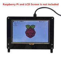 Raspberry Pi 3 5 Inch Display Touch Screen Dedicated Shell Black And White