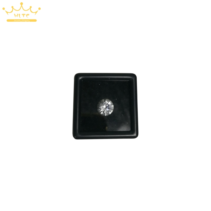 Free Shipping 35pcs Plastic Square Diamond Box Jewelry Beads/Stud Earring Display Box Case Showcase