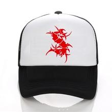 SEPULTURA Tribal Logo Metal Punk rock Mens cap For Women Letter Solid Adult baseball Cap Black White Hat Snapback