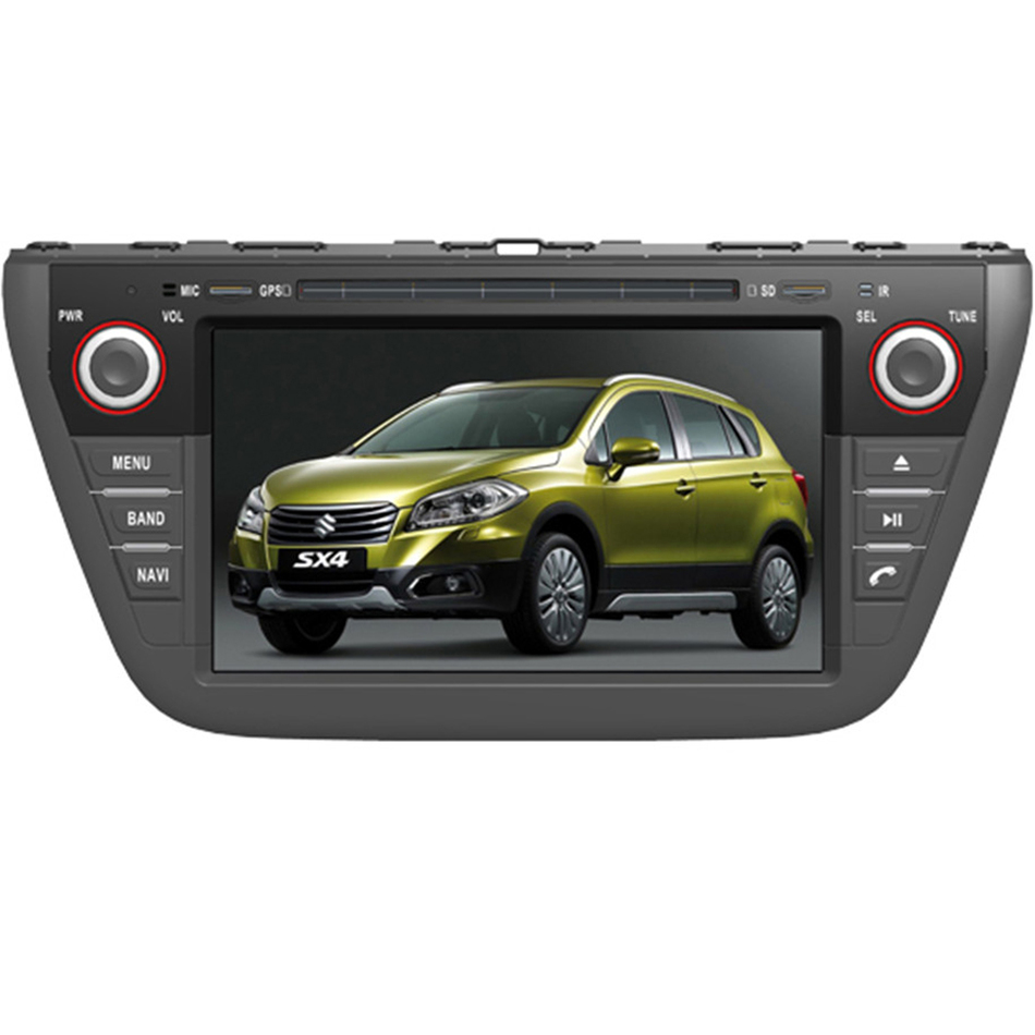Ectwodvd Wince 6.0 Car Multimedia Player For Suzuki SX4 2013 2014 2015 2016 Car DVD Video GPS Navigation Radio Bluetooth электрочайник de longhi kbi2000 bk