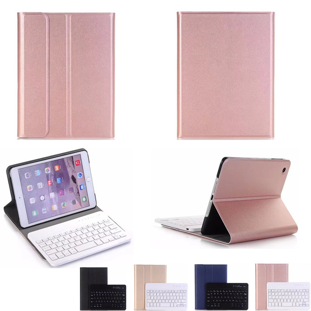 For ipad mini 2 New 2018 High-Quality Ultra thin Detachable Wireless Bluetooth Keyboard Case Cover For Apple iPad Mini 1 2 3