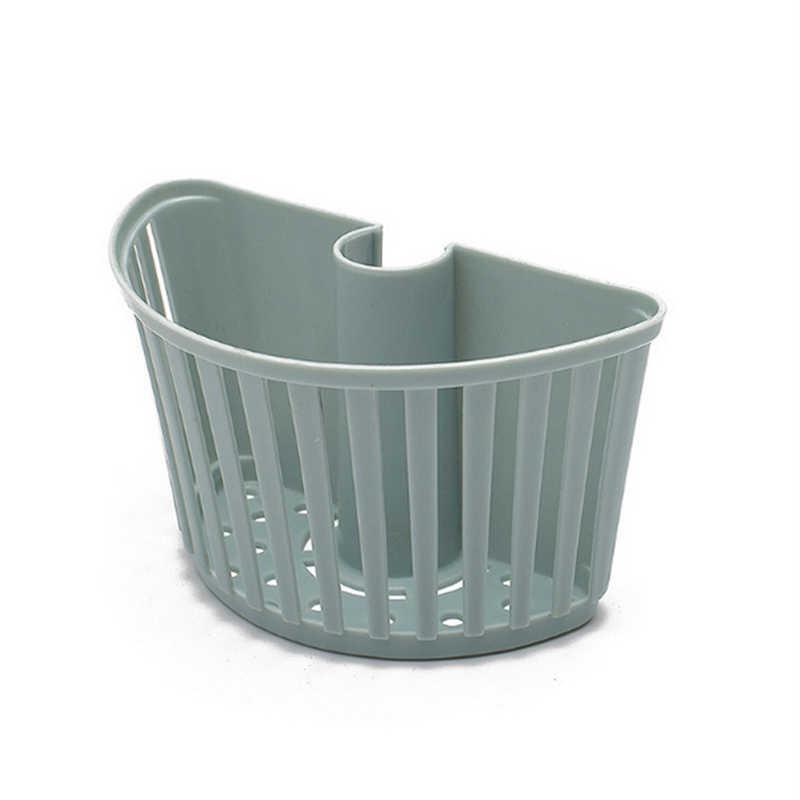 Organiseur de porte-plateau 1 pièce | Étagères en plastique de salle de bains, barre de douche, panier de rangement, organisateur de douche, support de rangement, accessoire de cuisine (bleu)