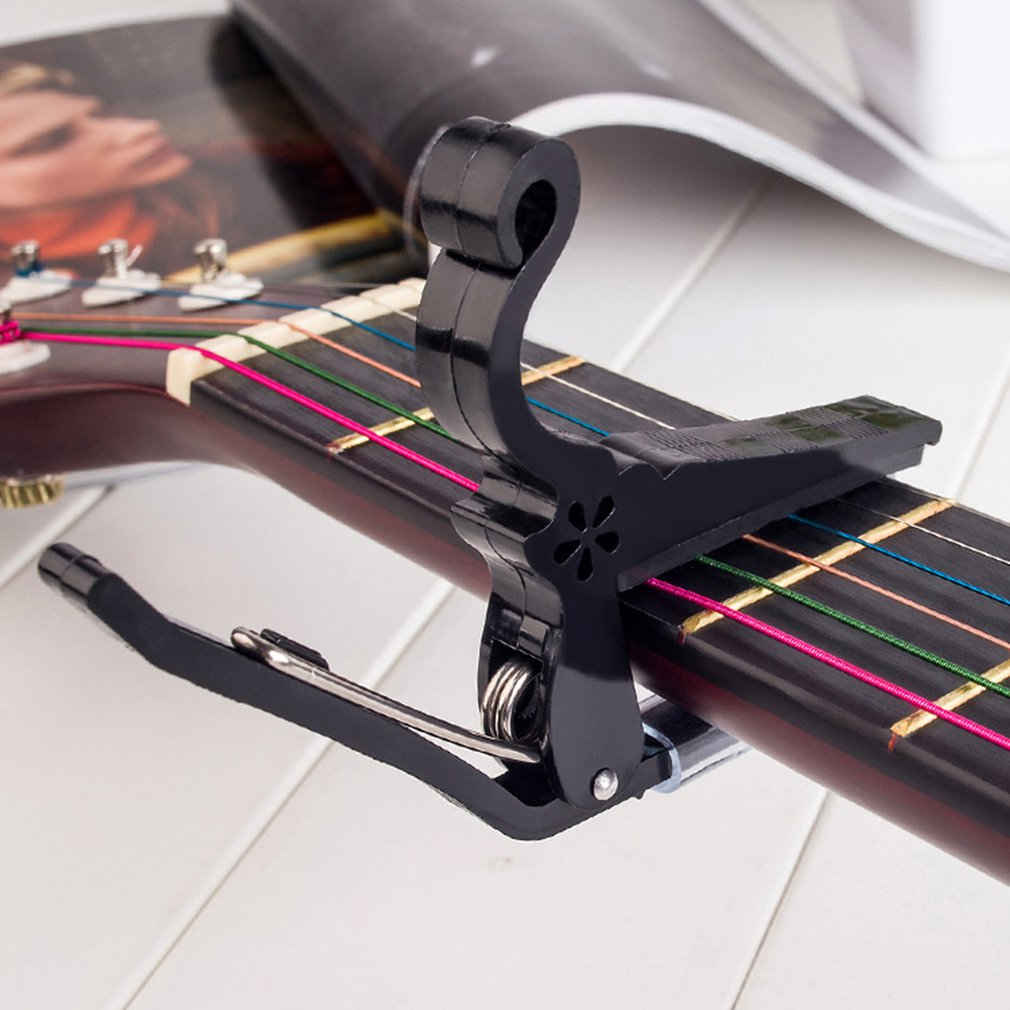 ABS Guitar Tuner Clamp Professional Key Trigger Capo For Acoustic Electric Musical Instruments Hot Sale Dropshipping