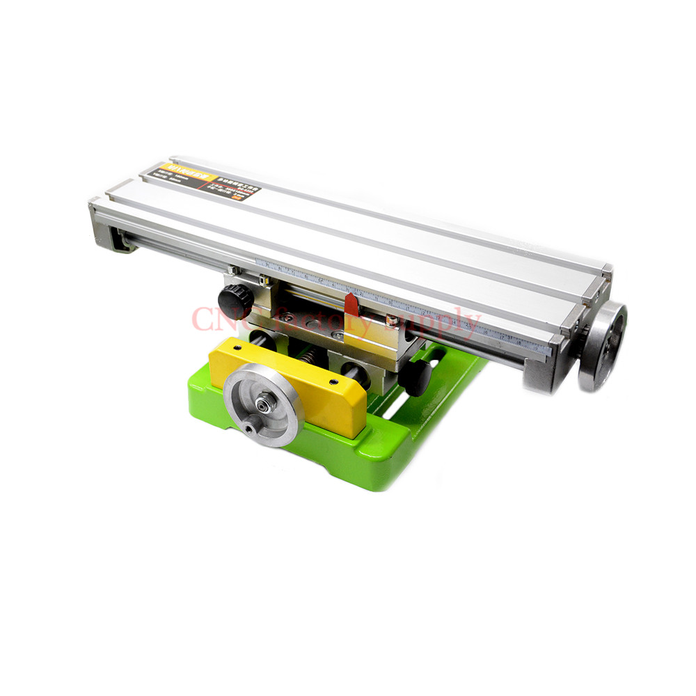 Mini precision multifunction worktable BG6350 Bench Vise Fixture drill milling machine X and Y-axis Adjustment Coordinate table ly 6350 mini precision multifunction cnc router machine bench drill vise fixture worktable x y adjustment coordinate table