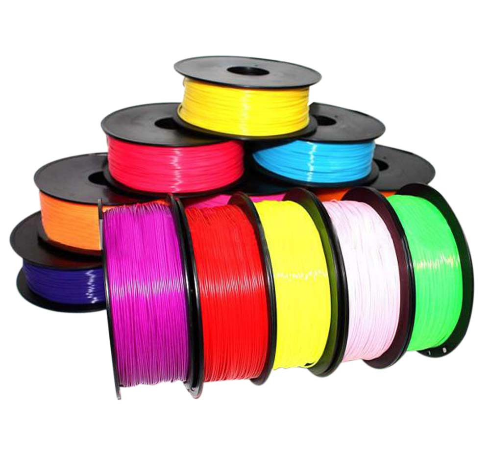 Doelstelling 10 M Lange 1.75mm Print Filament Abs Modeling Stereoscopische Voor 3d Tekening Printer Pen Plastic Rubber Magic Print Duurzame Service