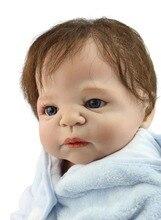 NOUVEAU design hotsale réaliste réel tactile bébé poupées enracinée réel de cheveux humains de mode poupée cadeau De Noël