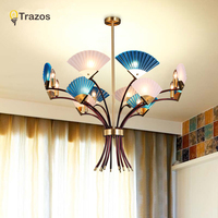 Modern Chandelier Lighting Novelty Lustre Lamparas Colgantes Lamp For Bedroom Living Room Luminaria Indoor Light Chandeliers