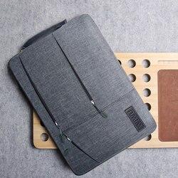 2019 متعددة جيوب شنطة لحمل macbook برو 13 15 16 حالة للماء حقيبة لاب توب لينوفو 14 دفتر شنطة لحمل macbook الهواء 13