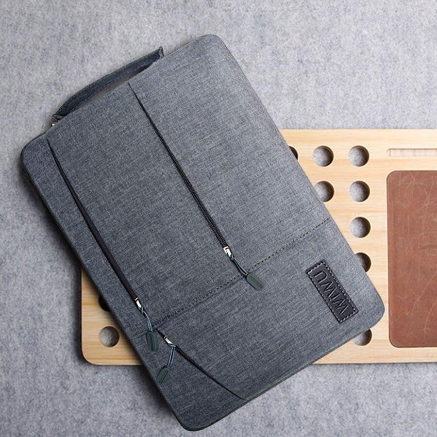 2019 Multi Pockets Bag For MacBook Pro 13 15 16 Case Waterproof Laptop Sleeve For Lenovo 14 Notebook Bag For MacBook Air 13