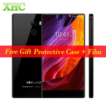 VKworld Mix Plus Full Edgeless Smart Phone 3GB+32GB Fingerprint ID 5.5 inch Android 7.0 MTK6737 Quad Core Dual SIM OTA Cellphone