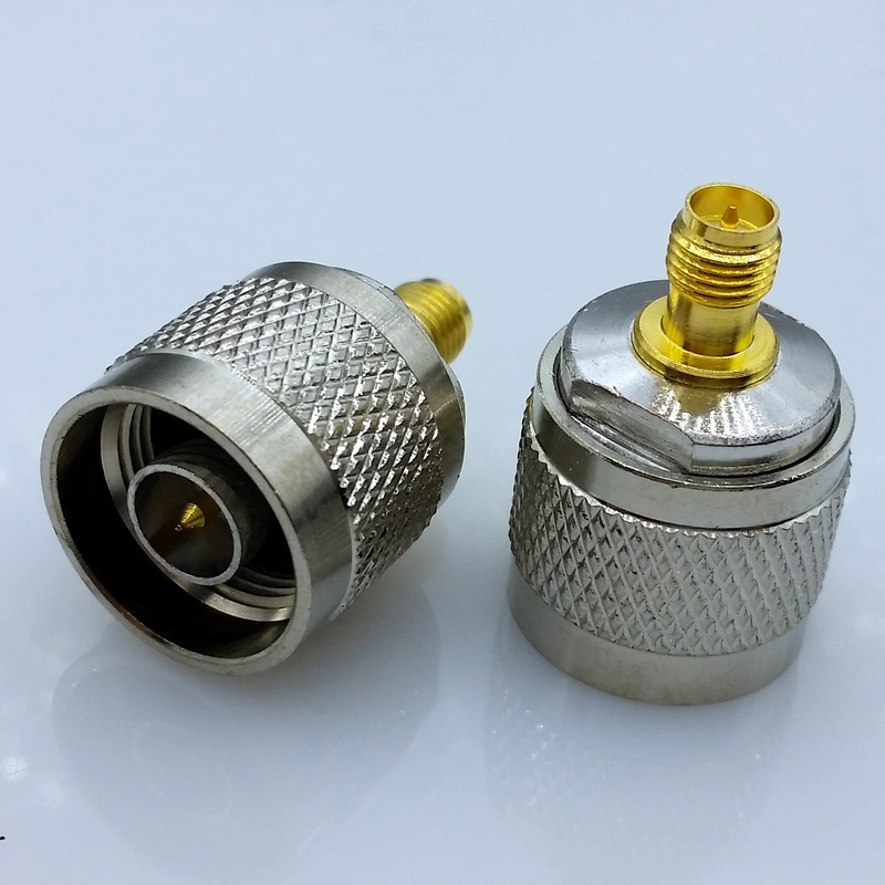 N type Male to sma Male adapter N male to sma male connector 1pcs free shipping l16 n type male to male adapter connector n type male connector n jj rf coaxial adapter connector 10pcs lot
