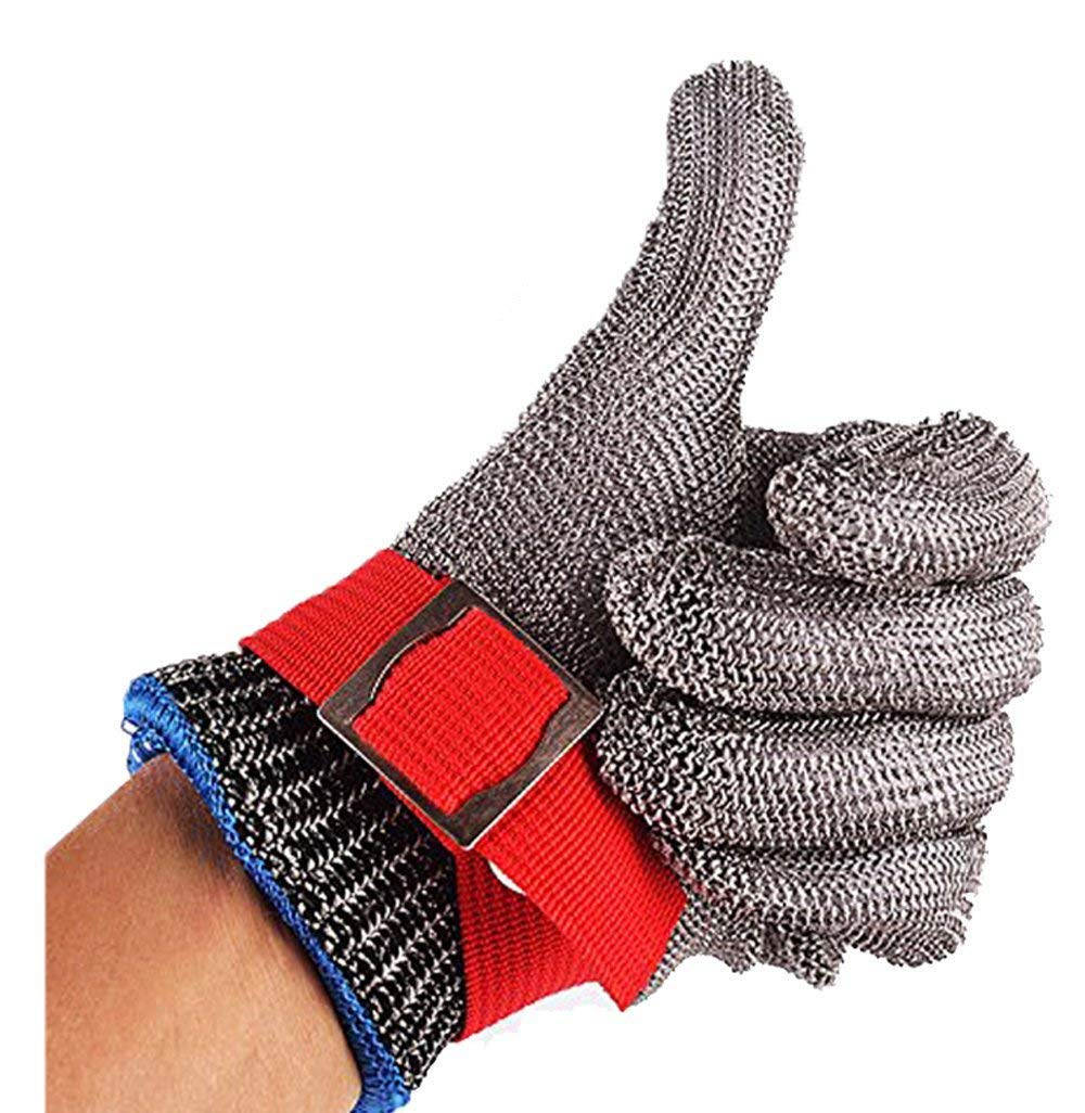 Safety Glove 10pcs lot Stainless Cut Resistant Proof Gloves Butcher Equipment Tools Meat Processing Protective Gloves