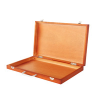 Easel Box Caballete De Pintura Oil Paint Artist Easel for Painting Atril Madera Wood Painting Box Easel Stand Drawing Supplies