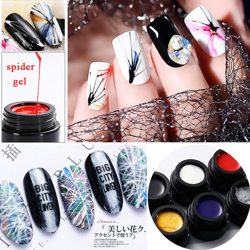 Beauty & Health Radient Coscelia New Wire Drawing Gel Nail Art Design Painting Gel Varnish Point To Line Creative For Diy Pull Thread Silk Spider Uv Gel A Great Variety Of Goods Nail Gel