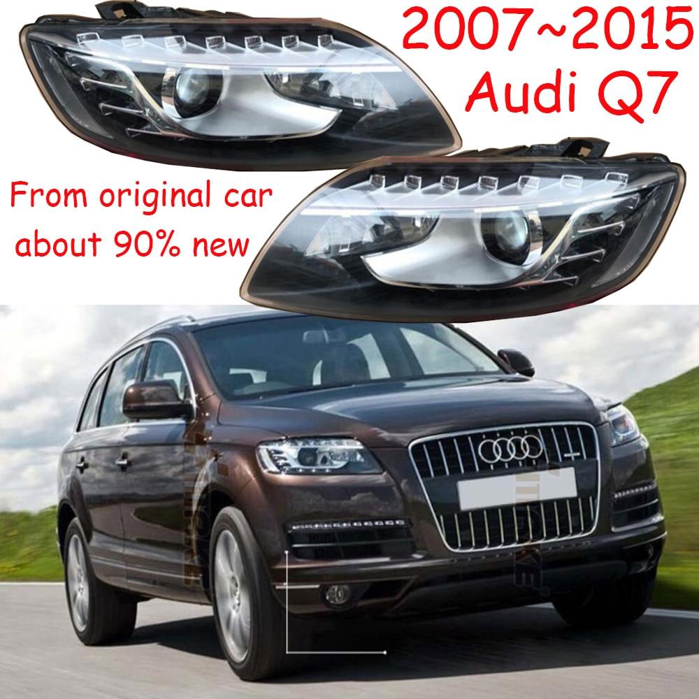 1pcs,2007~2015,Car Styling,Q7 Headlight,car accessories,Q7 Fog lamp,From original car,90%new,have flaw,Q7 daytime light цены онлайн