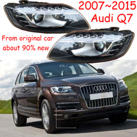 1pcs,2007~2015,Car Styling,Q7 Headlight,car accessories,Q7 Fog lamp,From original car,90%new,have flaw,Q7 daytime light