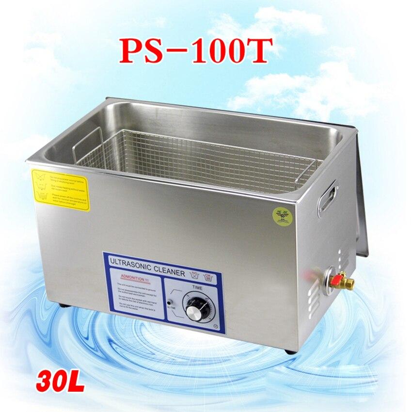 1 шт. ps 100t 600 Вт Ультразвуковой очиститель для материнской платы/схема/Электронные компоненты/КПБ пластины ультразвуковая чистка машины
