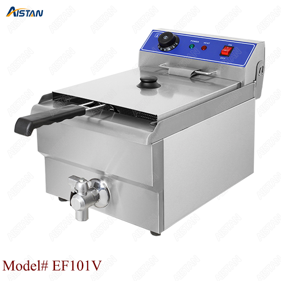 EF Series stainless steel electric deep fryer fried chicken fried potato chips for kitchen applianceEF Series stainless steel electric deep fryer fried chicken fried potato chips for kitchen appliance