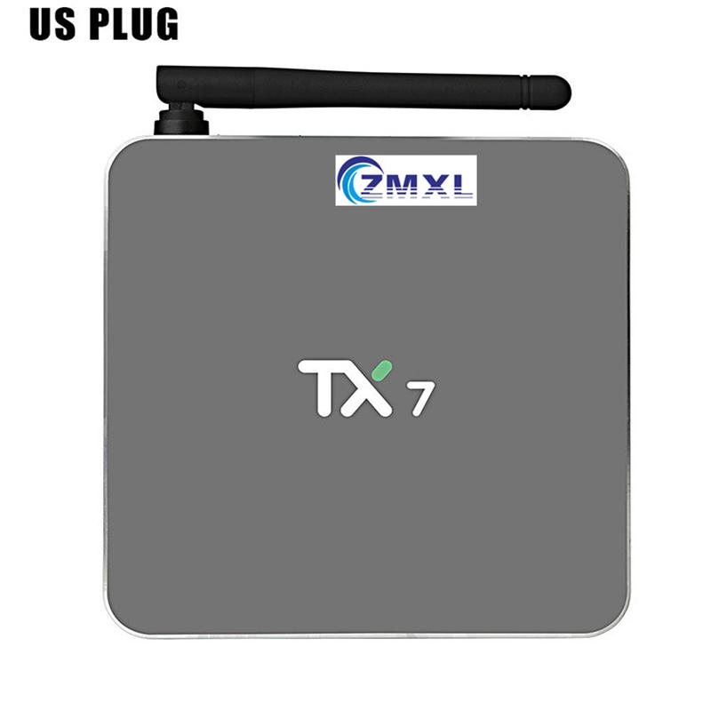 TX7 2G/32G Tv Box  Android 6.0  Amlogic S905X Quad Core Wifi Bluetooth4.0  HD Multimedia Player Support Multiple Languages askent s 7 1 tx