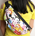 1pcs tsum Mickey Minnie Cartoon oblique large canvas pockets sports Packs cycling hiking