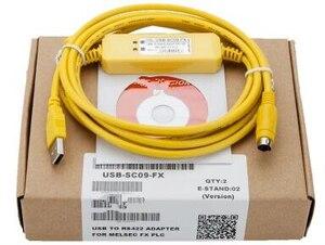 Image 1 - USB SC09 FX Plc programmering Kabel SC 09 SC09 FX FX1N/FX2N/FX1S/FX3U plc programmering kabel