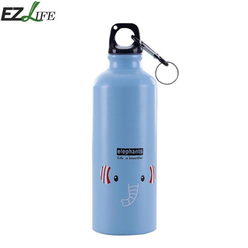 500ml Cute Cartoon Water Bottle Outdoor Travel Aluminum Bottle Portable Coffee Milk Bottle Gift Lady Kids Drink Bottle CRM2346