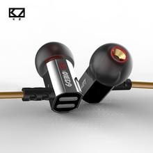 KZ ED9 наушники-вкладыши Super Bowl настройки сопла тяжелый бас HiFi наушники прозрачный звук для энтузиастов