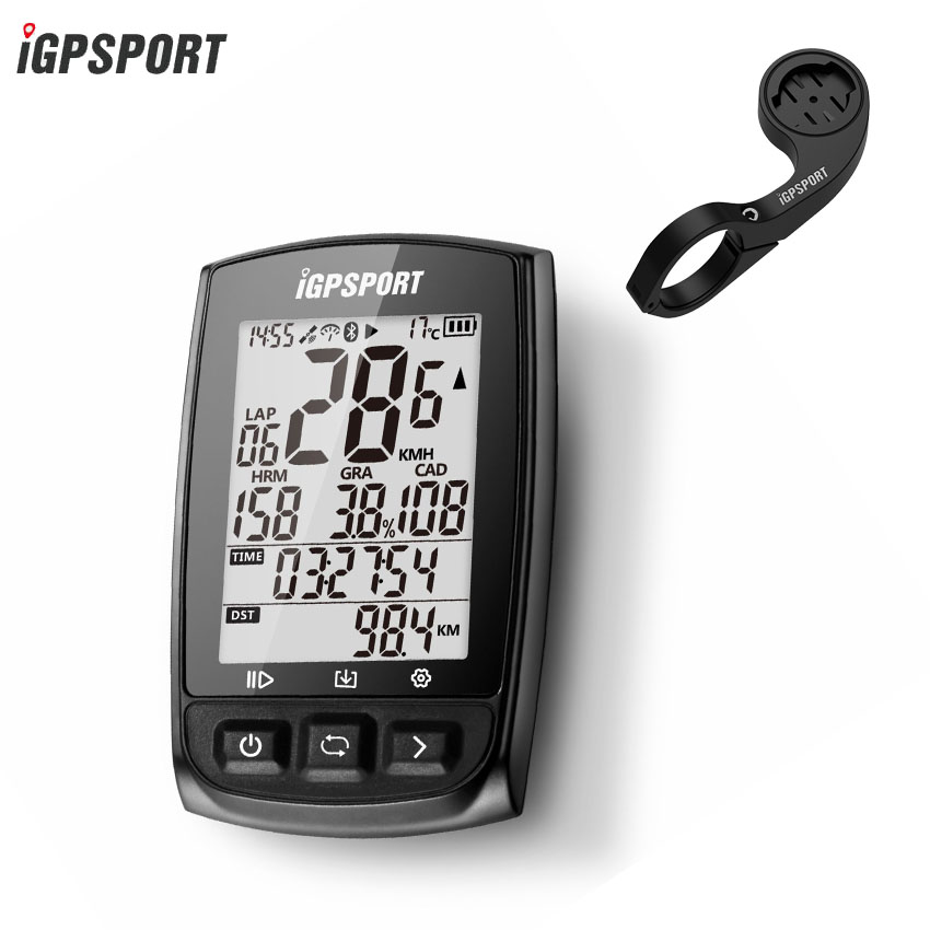 IGPSPORT New Bike GPS Bicycle Cycling Computer Wireless Tracker with ANT+ and Bluetooth Tracker Fitness Waterproof Wireless