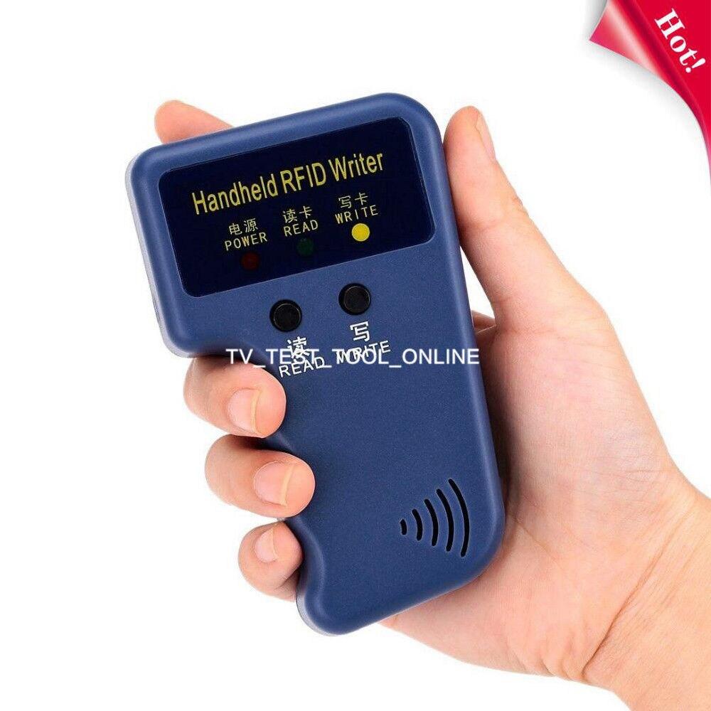 TKDMR Hot Portable Handheld 125Khz RFID Card Reader Copier Writer Duplicator Programmer ID Card Copy free shipping