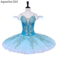 7ba3f3ff536bd Women Professional Classical Ballet Nutcracker Tutus Sky Blue Pancake Tutu  BT9153B Girls Ballet Competition Sleep Beauty