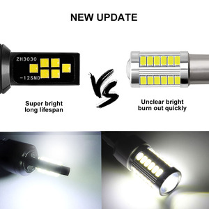 Image 5 - 2PCS H11 H8 HB4 9006 HB3 9005 Fog Lights 3030 Chips LED Lamp DRL Car Driving Running Lamp Auto Leds Bulb White 12V