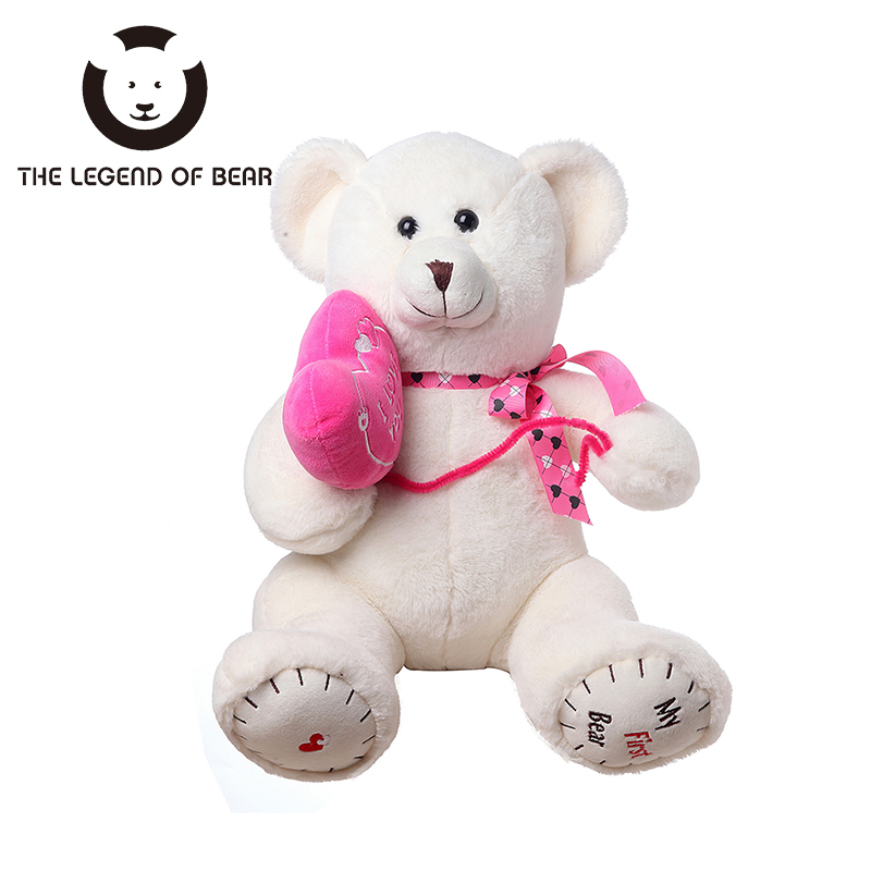 THE LEGEND OF BEAR Brand Stuffed Plush Animals Toys Tiny Teddy Bear Dolls 2 Clolor Gifts For Girls Soft Anime Toy Spiners Toy
