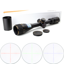 Tactical SNIPER NT 4.5-18X44 AOGL Hunting Riflescopes Optical Sight Full Size Glass Etched Reticle RGB llluminate Rifle Scope