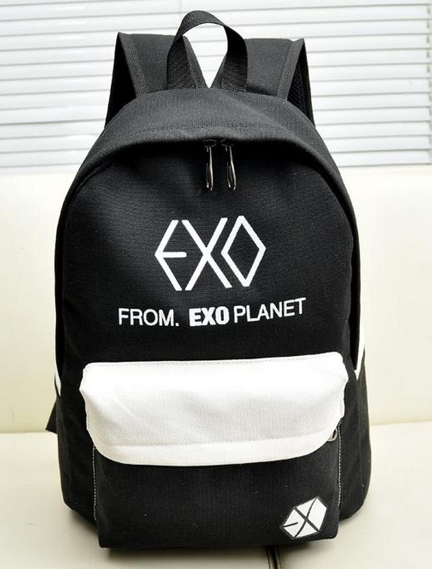 Backpacks Luggage & Bags 2016 New Hot Sale Men Women Canvas Backpacks Rucksacks Men Women Student School Bags For Girl Boy Casual Travel Exo Bags Mochila Suitable For Men And Women Of All Ages In All Seasons