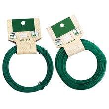 15 м/20 м гибкий садовый галстук-шнурок, кабельная катушка, рулон, растение, садовая поддержка, аксессуары для ухода за растениями