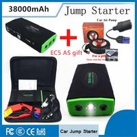 Mini Meistverkauften Produkte 38000 mAh Ladegerät Bewegliche Energienbank Mini Auto Starthilfe Booster mit Auto aufblasbare pumpe