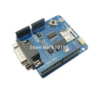 5PCS LOT CAN BUS Shield Expansion Board Development Board Fieldbus Expansion Board For Arduino