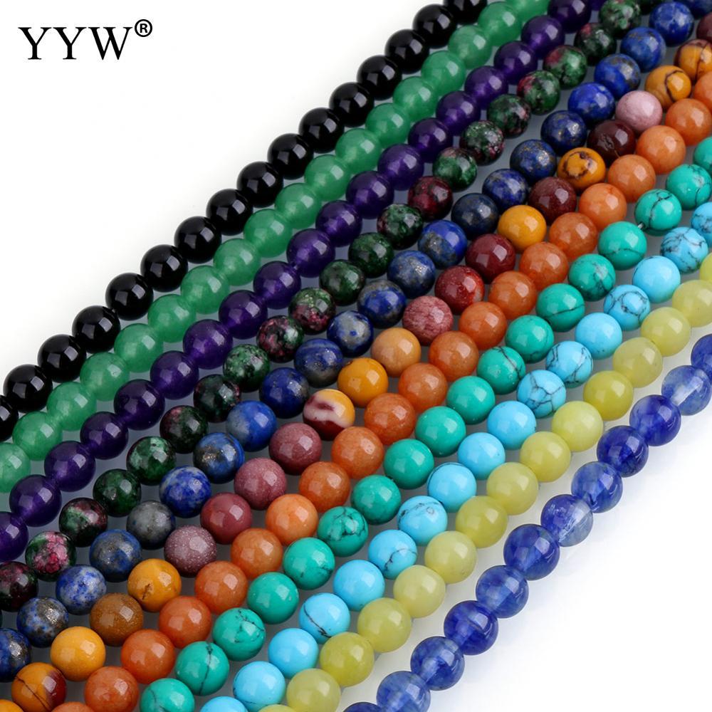 Aliexpress.com : Buy Hot Sale Nature Stone Beads 4/6/8/10