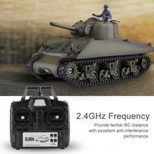 Хэн длинные 3898-1 1/16 Масштаб 2,4 ГГц имитация на дистанционном управлении модель Шермана M4A3 Р/У танки для детей, носки для мальчиков модные подарки