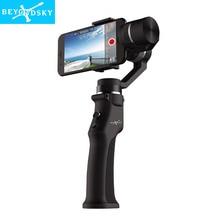 Beyondsky Eyemind Smartphone Handheld Gimbal 3-Axis Stabilizer for Gopro Action Camera Bluetooth APP Selfie Stick estabilizador