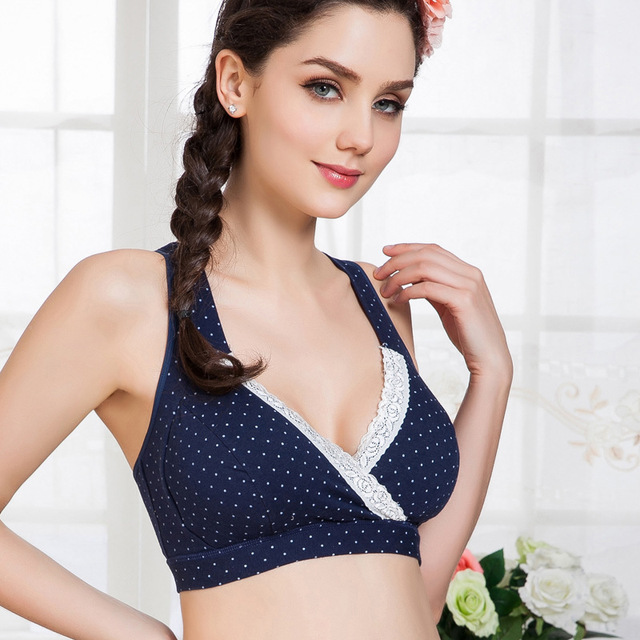 d8e182c6f0677 woman cotton maternity nursing bra top for pregnant women gestante  maternity breastfeeding clothes vest underwear