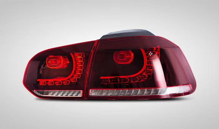 Image 2 - Car Style For Golf 6 Taillights 2008 2009 2010 2012 2013 Led Taillight for R20 for MK6 Rear Light Plug and Play Design back lamp-in Car Light Assembly from Automobiles & Motorcycles