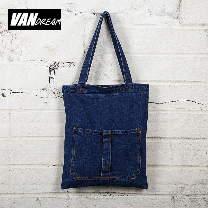 new Fashion women's messenger bags famous brand handbag denim jeans lady should