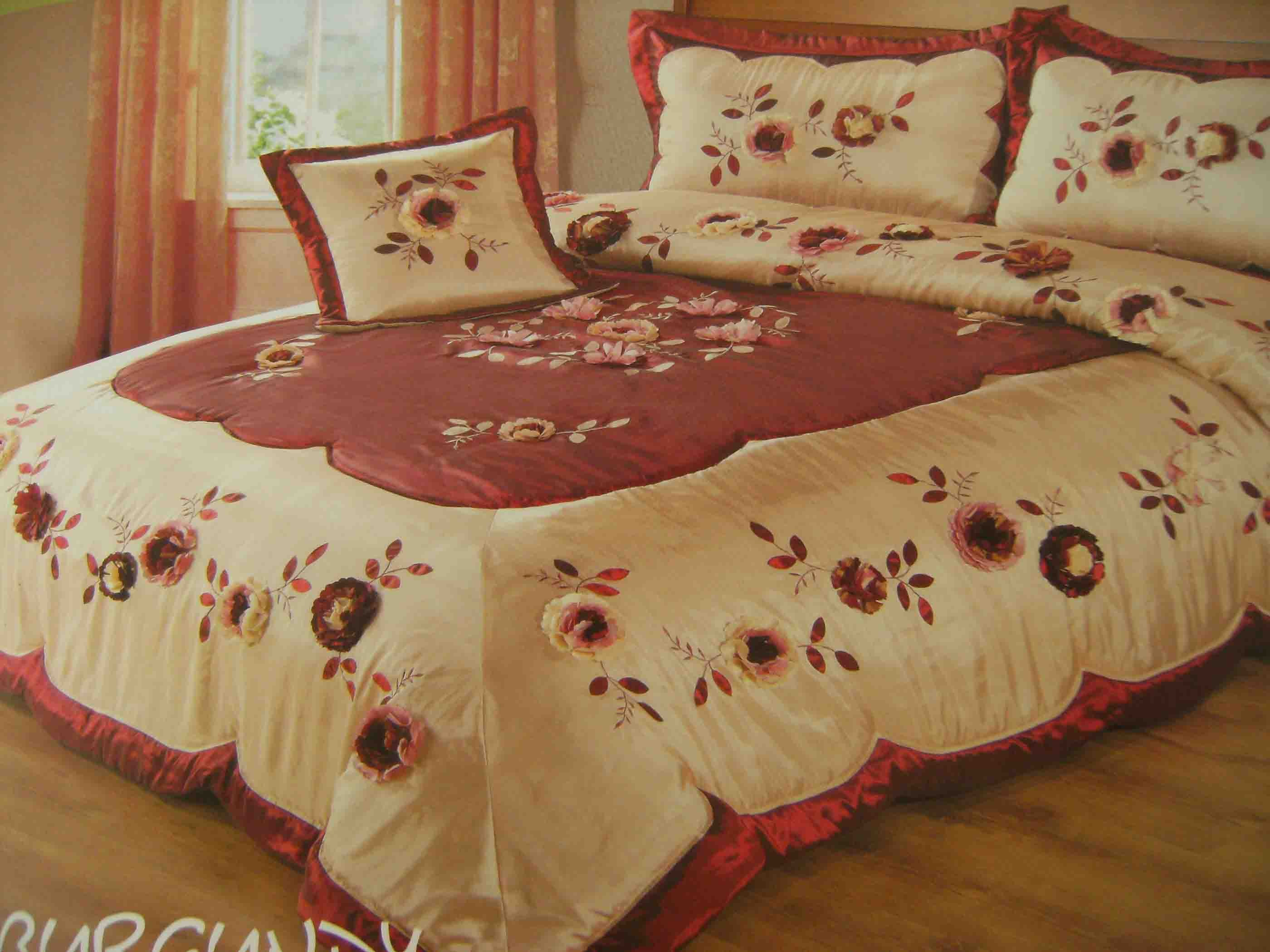 beautiful bed cover in bedding sets from home garden on