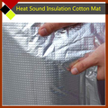 "Car Cover Aluminum Foil Noise Control Heat Sound Insulation Absorbing Deadener Cotton Material 30"" x40"" 76cm x100cm"