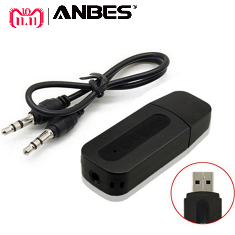 Bluetooth AUX Wireless Portable mini Black Bluetooth Music Audio Receiver Adapter 3.5mm Stereo Audio for iPhone Android Phones usb bluetooth stereo audio music receiver adapter