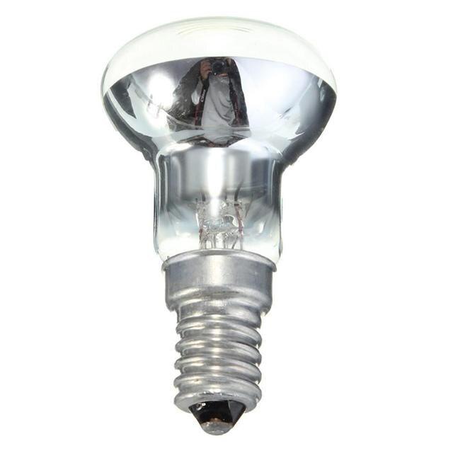 Edison Bulb E14 Light Holder R39 Reflector Spot Light Bulb Lava Lamp