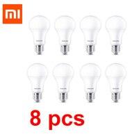 Xiaomi-Lámpara de 8W para Chip de tecnología Philips, MIJIA 6500K, 800lm, 220-240V, bola LED de ahorro de energía, Base E27 no inteligente