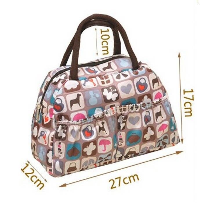 bolsalunch estampas de animais doce Tipos de Sacos : Top-handle Bags