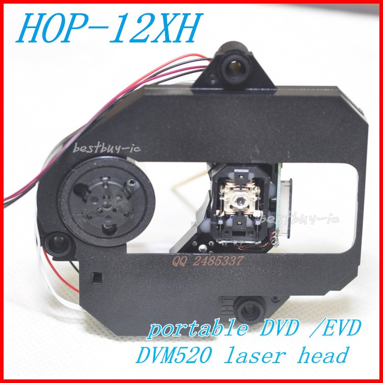 DVD EDVD EVD optical pick up HOP-12XH / 12XH WITH DVM520 MECHANISM DV520(12XH) 12XH LASER HEAD